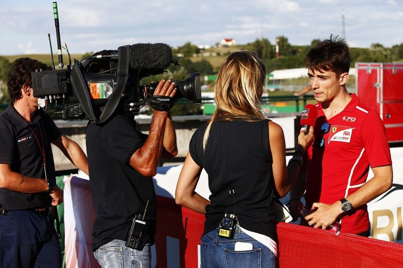 Charles Leclerc stripped of record Formula 2 pole at Hungaroring