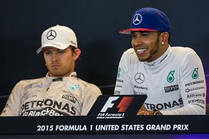 Lewis Hamilton: Hitting Nico Rosberg in F1 US GP 'not intentional'
