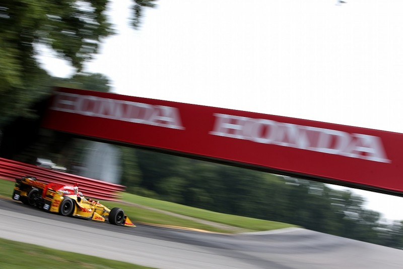 Mid-Ohio IndyCar: Ryan Hunter-Reay fastest in practice for Andretti