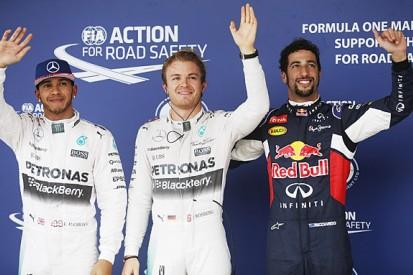 Nico Rosberg takes pole in shortened US GP F1 qualifying