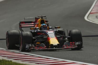 Hungarian GP FP2: Ricciardo fastest again in upgraded Red Bull F1 car