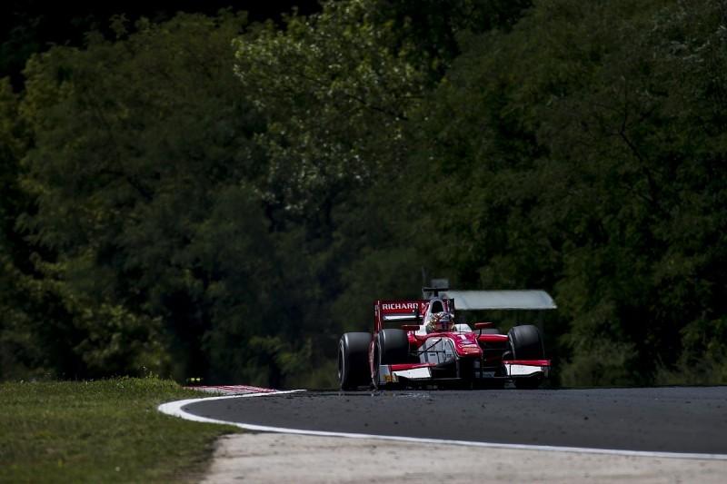 Hungaroring F2: Ferrari's Leclerc sets qualifying pole run record