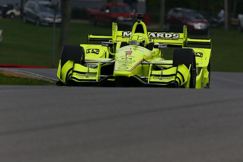 Mid-Ohio IndyCar: Simon Pagenaud leads practice one for Penske