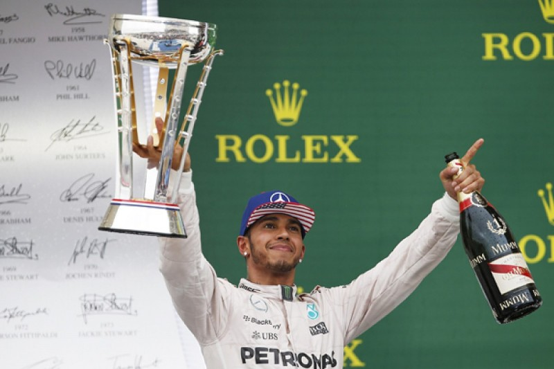 No new targets for Hamilton after joining Senna as triple F1 champ