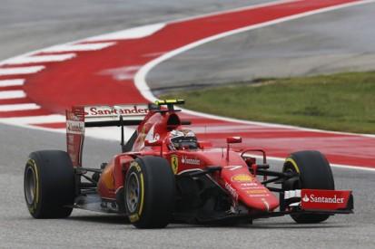 Ferrari's Kimi Raikkonen accepts blame for F1 US Grand Prix shunt