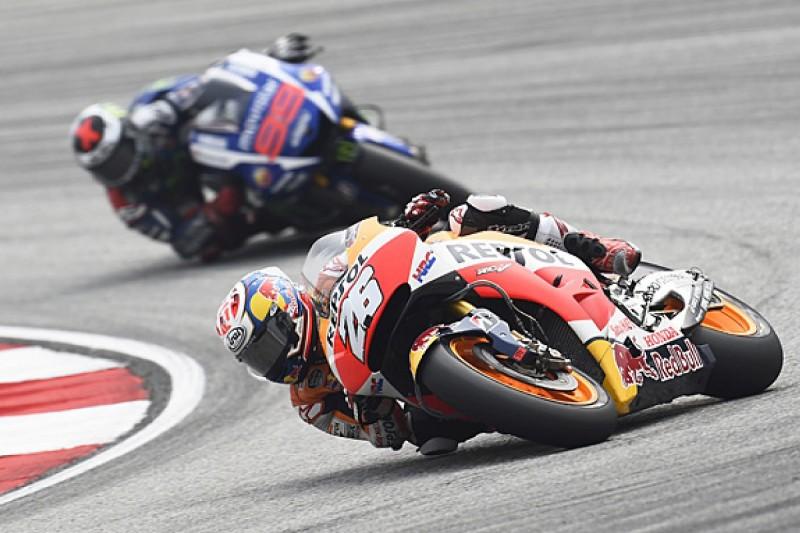 Sepang MotoGP: Pedrosa wins, Rossi and Marquez clash