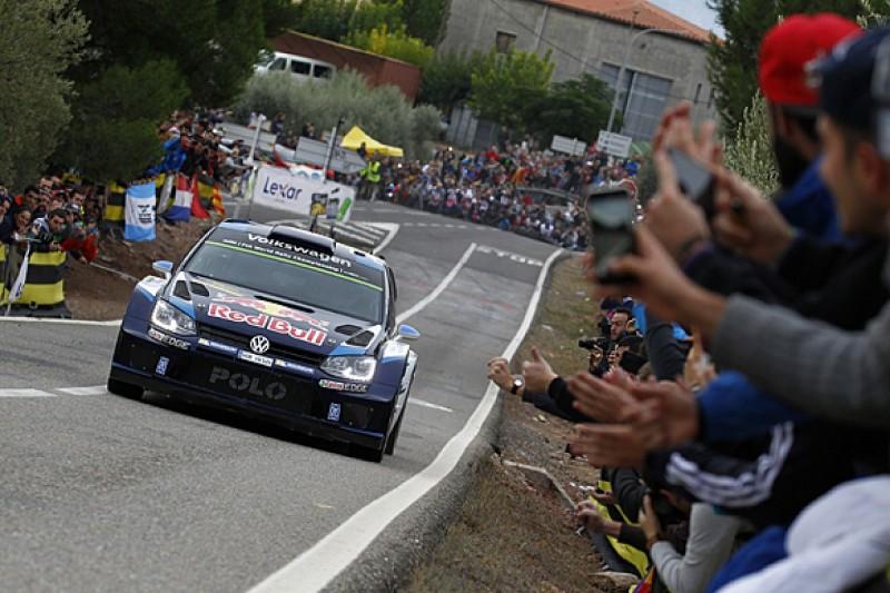 WRC Catalunya: Ogier cruises as Latvala and Mikkelsen battle