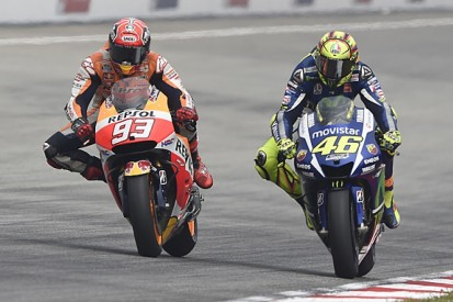 Rossi to start at back for MotoGP title decider after Marquez clash