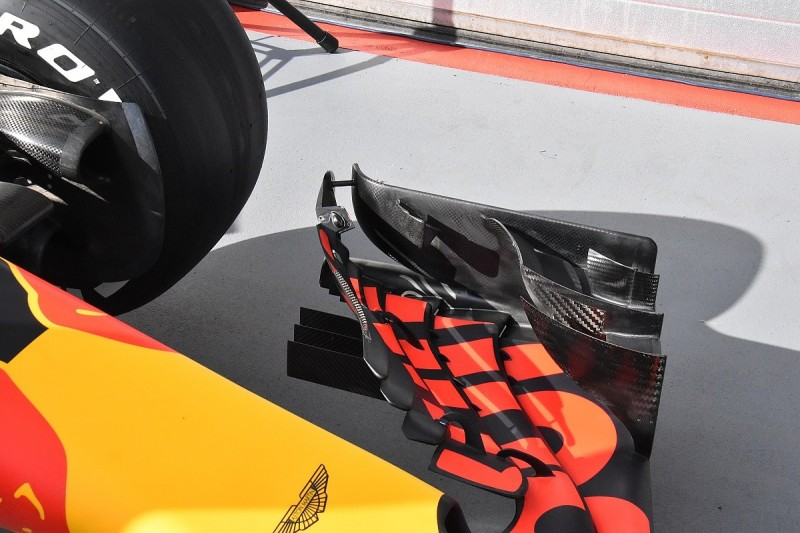 Red Bull alters F1 front wing after flexing intrigue from rivals
