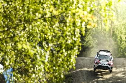 WRC Rally Finland: Latvala leads as Toyota team-mate Lappi closes