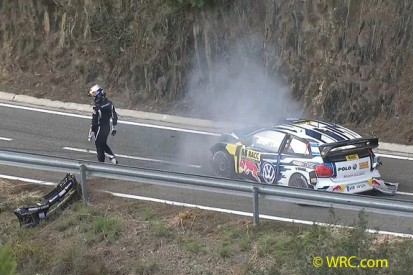 WRC Rally Catalunya: Ogier crashes from the lead on final stage