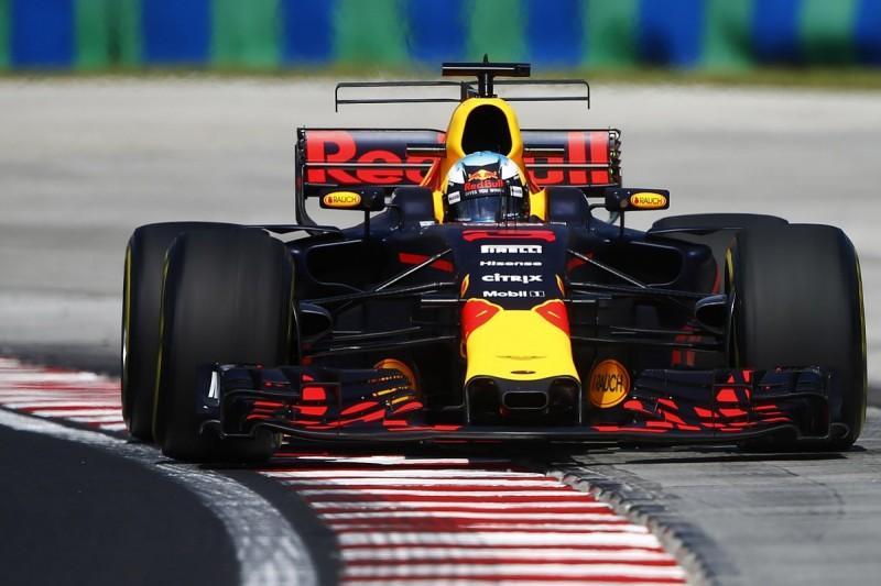 Hungarian GP FP1: Daniel Ricciardo fastest in upgraded Red Bull