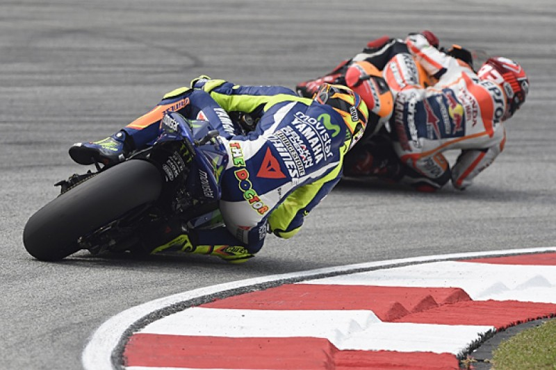 Rossi 'kicked out at me' in Malaysian MotoGP clash, says Marquez