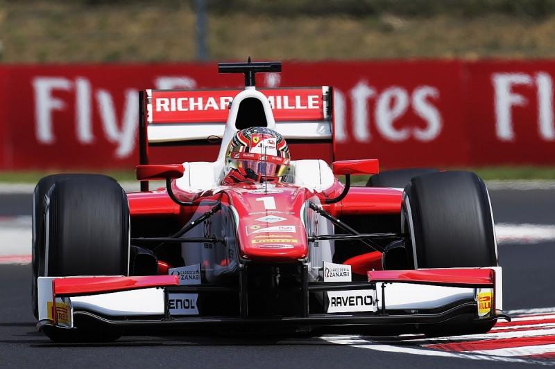 Hungaroring F2: Ferrari F1 junior Leclerc leads Rowland in practice