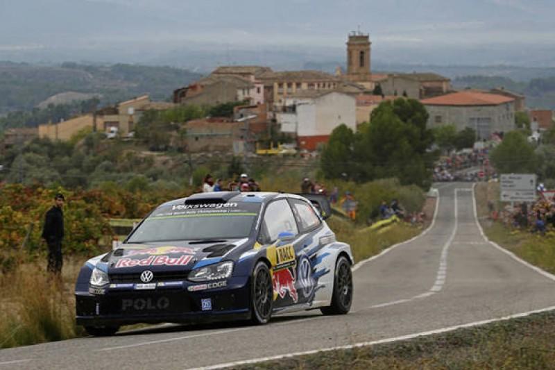 WRC Rally Catalunya: Ogier-led Volkswagen takes control