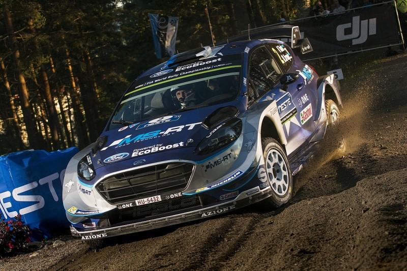 Rally Finland: Ott Tanak takes early lead on Thursday evening