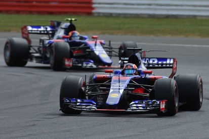 Toro Rosso F1 team blames both drivers for British GP clash