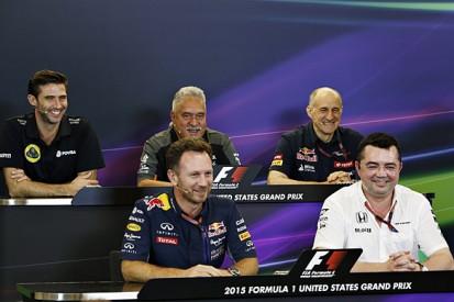 United States F1 GP Friday press conference full transcript