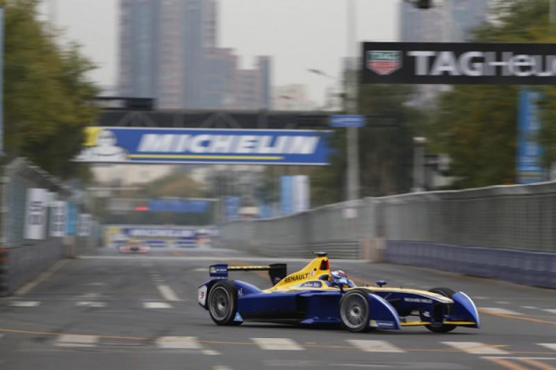 Beijing Formula E: Sebastien Buemi on pole, Nelson Piquet Jr last