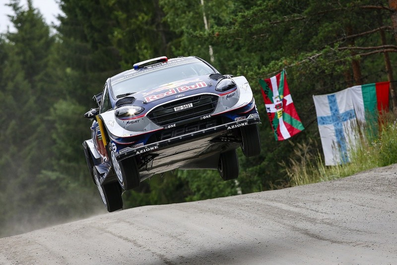 WRC Rally Finland: Sebastien Ogier hits trouble early on day one