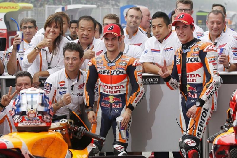 Sepang MotoGP: Dani Pedrosa scores dominant pole in Honda 1-2