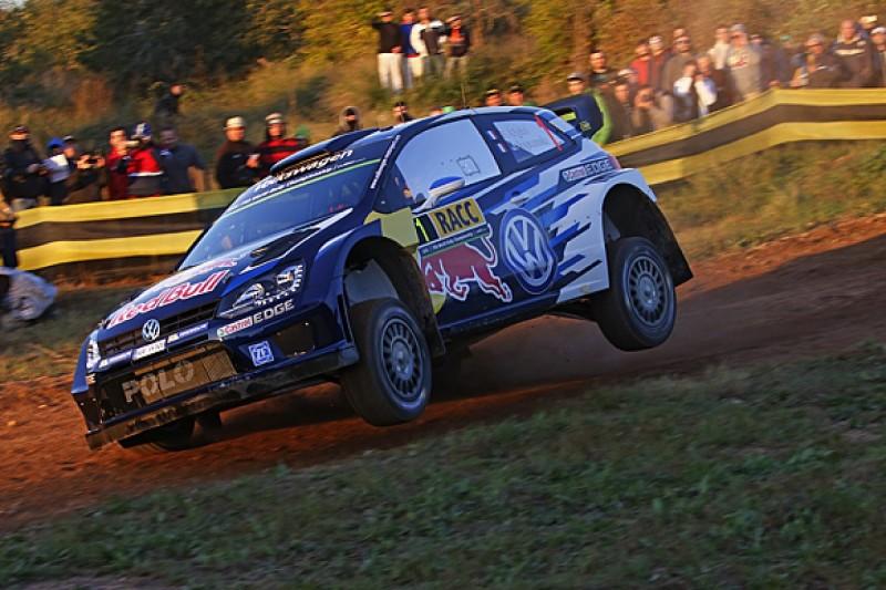 WRC Rally Catalunya: Ogier overcomes Latvala and Tanak to lead