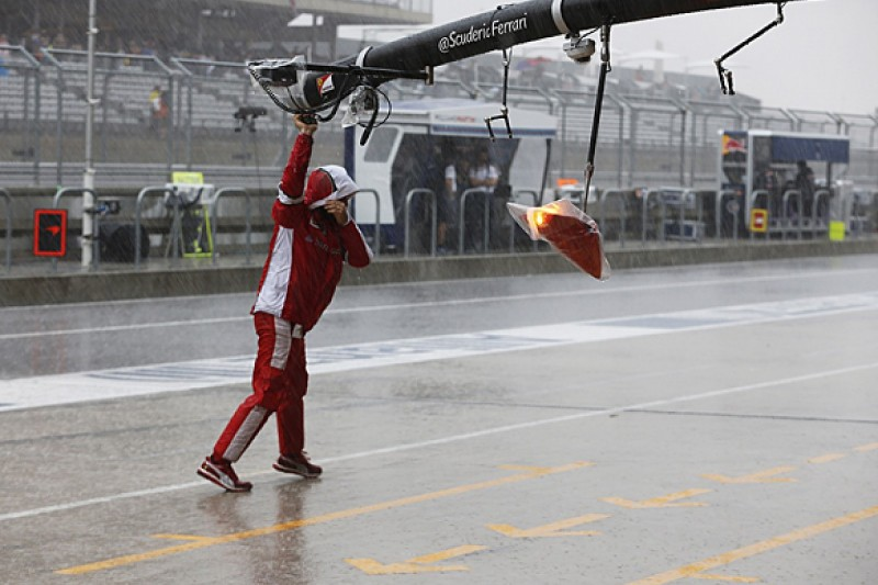 US F1 Grand Prix: Second practice cancelled due to extreme weather