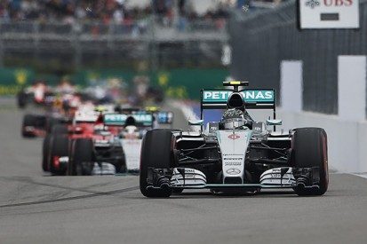 Mercedes Russian GP formation lap pace 'ridiculous', says Vettel