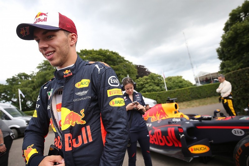 Pierre Gasly believes Toro Rosso F1 drive for 2018 can still happen