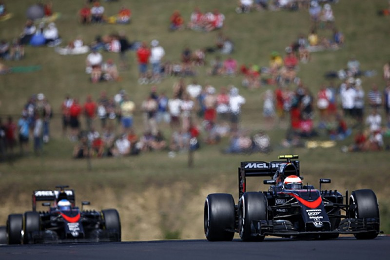 Jenson Button hopes F1 team-mate Fernando Alonso annihilates him