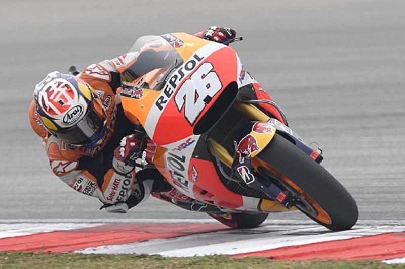 Sepang MotoGP: Dani Pedrosa tops practice one for Honda