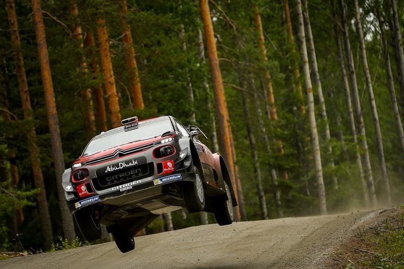 Kris Meeke tops Rally Finland shakedown on Citroen WRC return