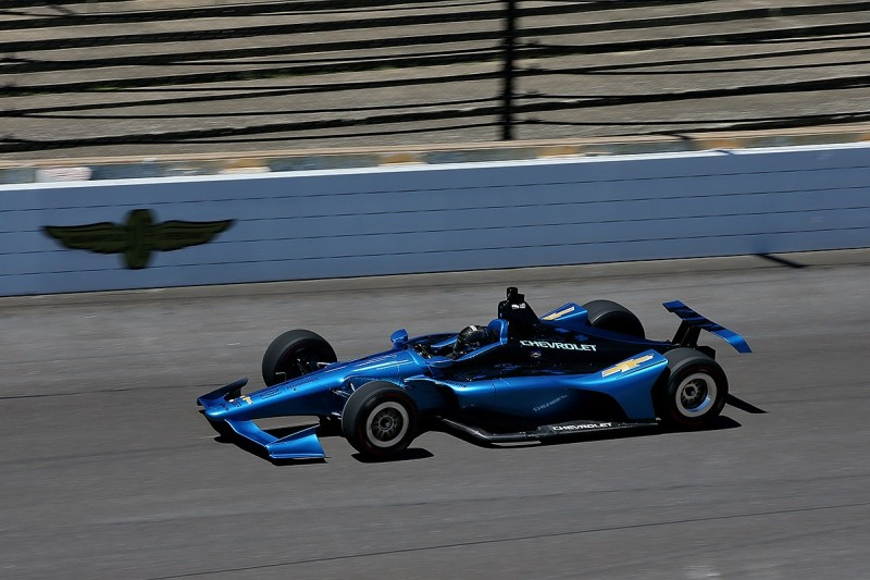Video: Watch action from the first test for IndyCar's 2018 design