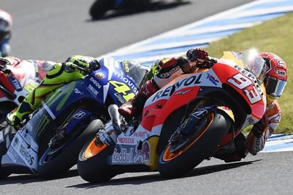 Marc Marquez disputes accusations from MotoGP rival Valentino Rossi