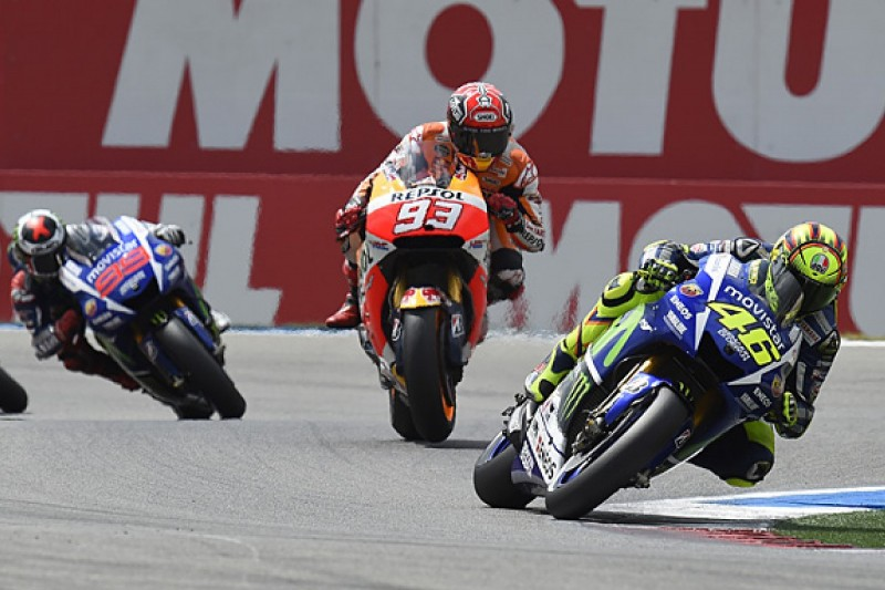 Valentino Rossi believes Marc Marquez is 'thinking like a child'
