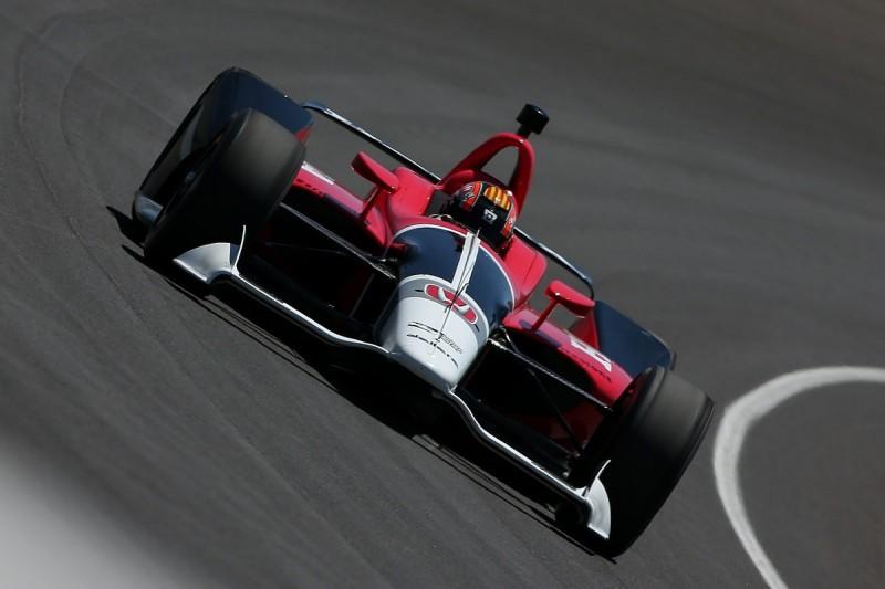 IndyCar begins testing 2018 car with Montoya and Servia
