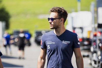 F2 frontrunner Luca Ghiotto to test for Wiliams F1 team in Hungary