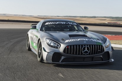 Mercedes reveals new customer GT4 challenger for 2018 season