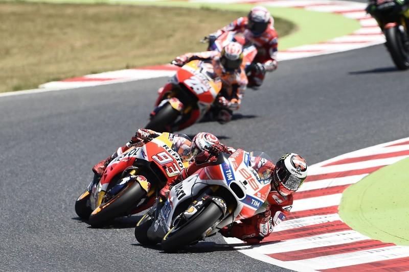 Marc Marquez convinced Jorge Lorenzo will win MotoGP races in 2017