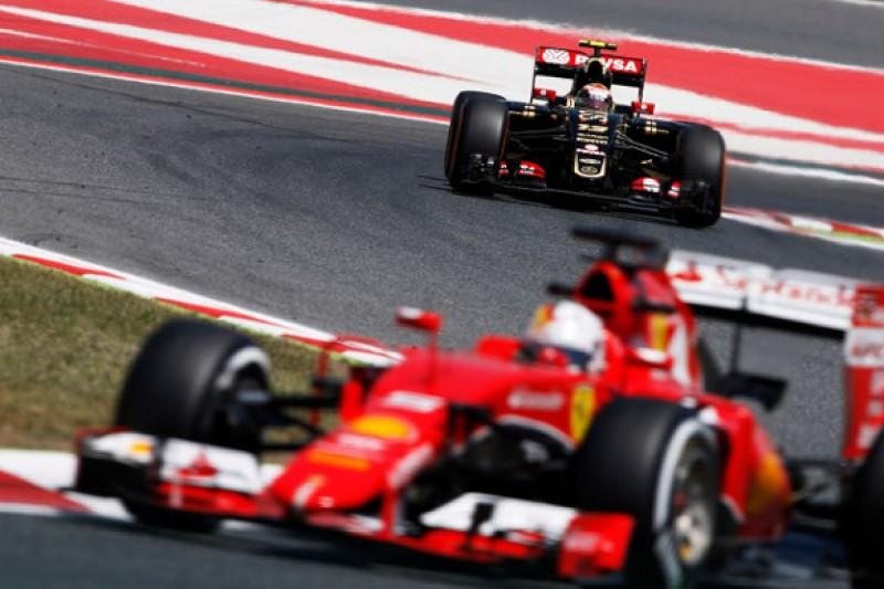 Lotus F1 team capable of 'fighting' Ferrari - Pastor Maldonado