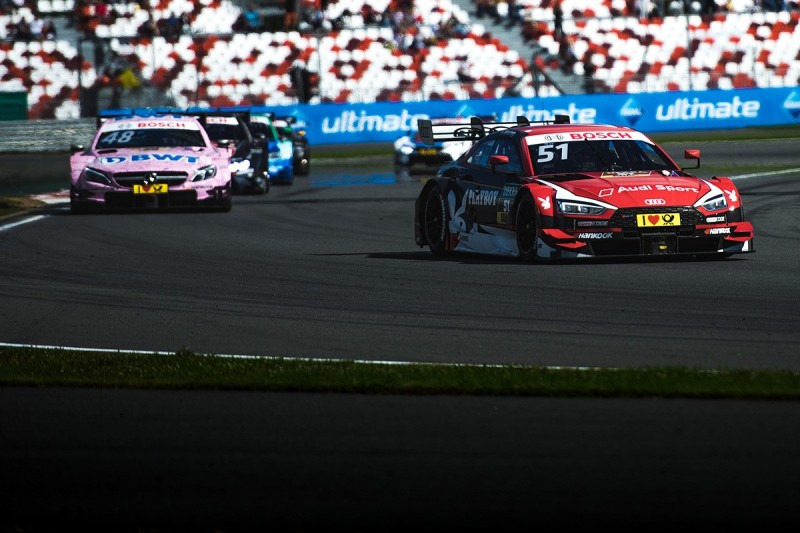 BMW and Mercedes hit out at Audi tactics in DTM Moscow race