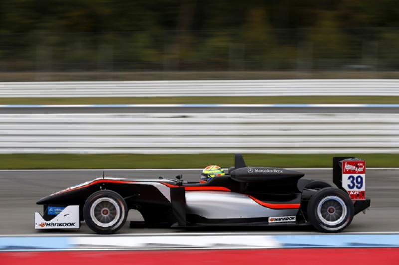 Form of BMW GT driver Sims boosts new European F3 team Hitech GP