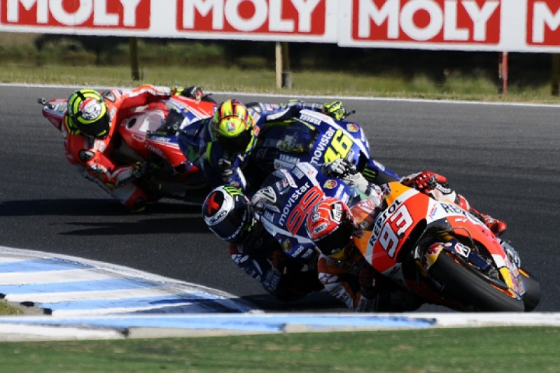 MotoGP riders hail Australian GP as the best race of the modern era