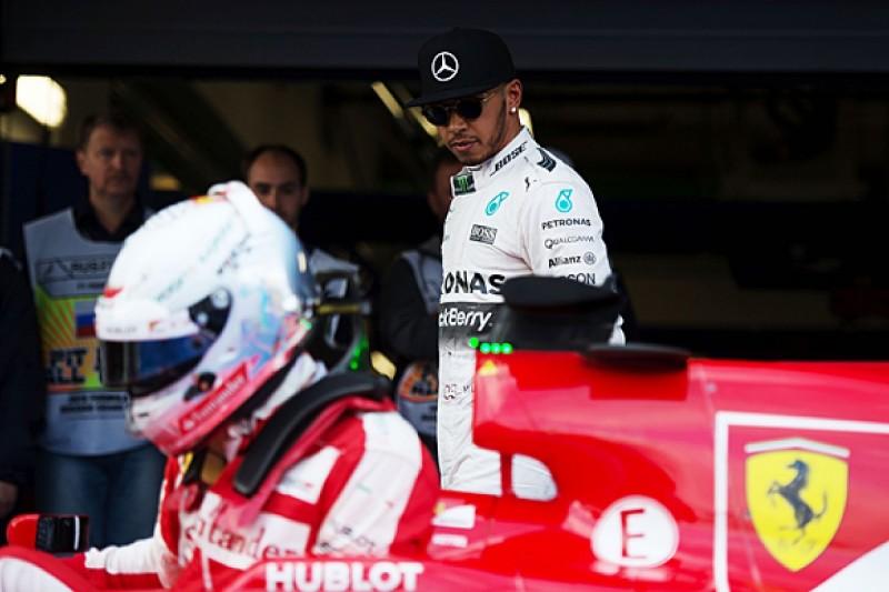 Lewis Hamilton: A Ferrari surge would be good for Formula 1