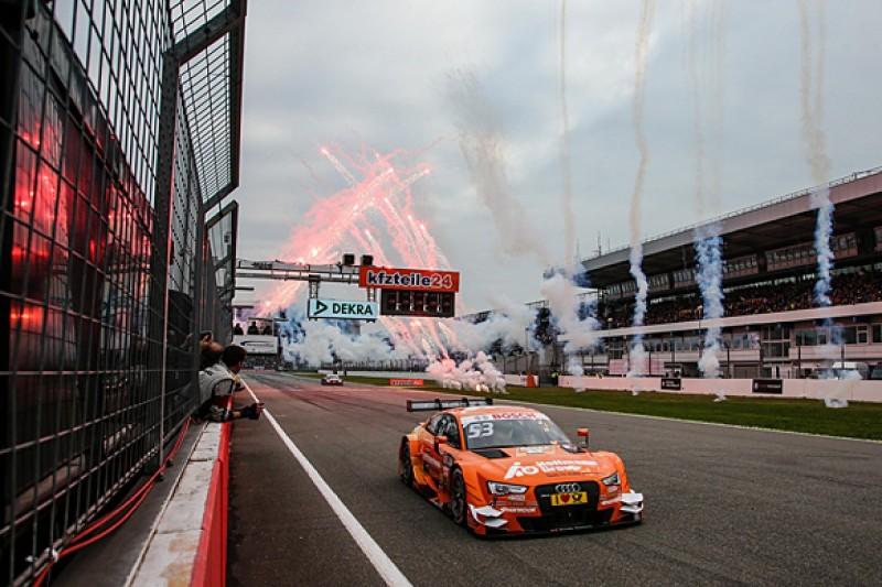 Hockenheim DTM: Audi's Jamie Green ends season with fourth win
