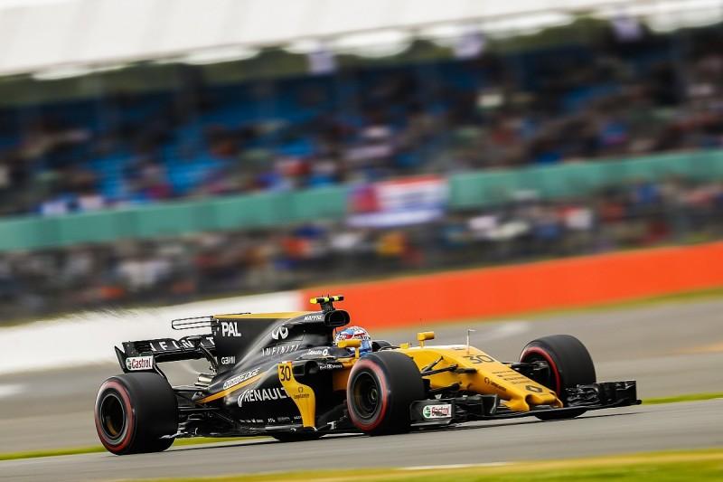 Jolyon Palmer gets new Renault F1 floor for Hungarian Grand Prix
