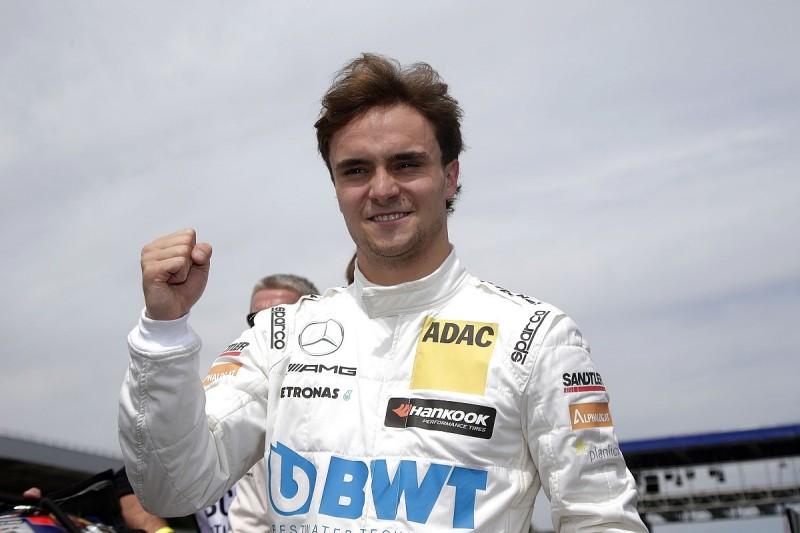 Mercedes DTM driver Auer says Force India Formula 1 test is 'crazy'