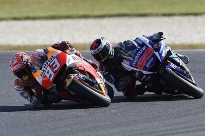 Phillip Island MotoGP: Marc Marquez beats Jorge Lorenzo on last lap