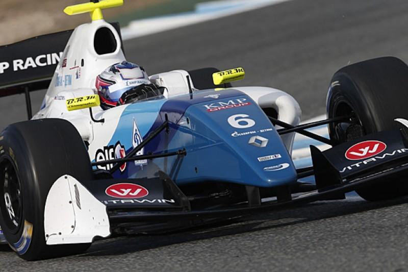 Jerez FR3.5: Egor Orudzhev and Matthieu Vaxiviere lead practice