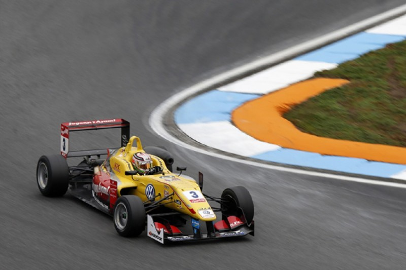 Hockenheim Euro F3: Giovinazzi and Dennis take pole positions